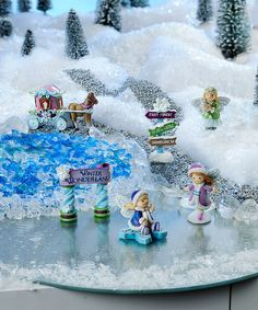 Look what I found on #zulily! Snow Fairies - Set of Six #zulilyfinds