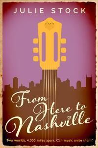 From Here to Nashville designed by designforwriters.com.   JF: A beautiful cover with typography that evokes the country music theme of the book, and a great color scheme. It sings. ★