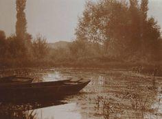 Charles Augustin Lhermitte - Barque sur un étang, 1912