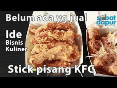 Snack Recipes, Cooking Recipes, Snacks, Food To Go, Food And Drink, Asian Desserts, Indonesian Food, Frozen Banana, Kfc