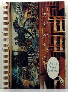 Amish Taste Cookbook 1977 Amish Recipes from U.S., Canada, Africa by ClassicOldCookbooks on Etsy