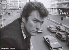 A fantastic portrait poster of a young Clint Eastwood in London in the 1960's…