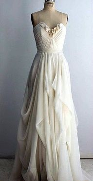 I would love this as a wedding dress personally!!!!
