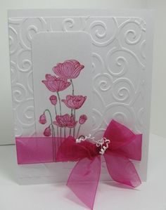 New Flower Pink 3137 by queenoe - Cards and Paper Crafts at Splitcoaststampers