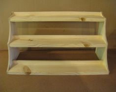 Craft show display riser tall by Wudls on Etsy, $35.00