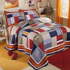 Ronnie Patchworks Quilt Set