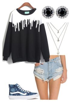 """""""408"""" by rhay-q ❤ liked on Polyvore featuring One Teaspoon and Vans"""
