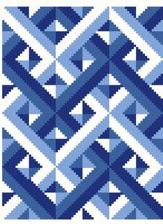 Bargello Patterns, Needlepoint Patterns, Weaving Patterns, Crochet Quilt, Tapestry Crochet, Labrynth Quilt Pattern, Big Block Quilts, Wedding Cross Stitch Patterns, Graph Paper Art