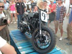 Magnifique: The third customized BMW R nineT by Blitz Motorcycles, Paris.