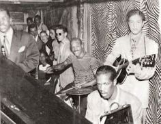 Club Sudan Jam Session, c. Jo Jones, d Anderson, p Kenny Burrell, g. Club Sudan was a focal point of Detroit's mid- jazz scene. It was a racially integrated mix of renowned players and gifted younger musicians who would soon achieve national recognition. Kenny Burrell, Paradise Valley, Wonderful Places, Vintage Black, Detroit, Evolution, Jazz, Michigan, Scene
