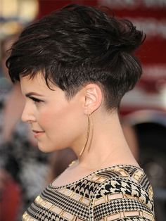 While you might not want to go as short as Ginnifer, get out of a style rut by having your stylist cut in more layers, or ask him/her to pull out the texturizing shears. You'll be surprised what an impact it will make to take some weight out. There are also plenty of ways you can fake a new haircut without the commitment.