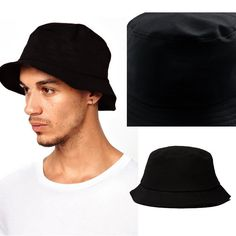 c2b31a9e Hippie Unisex Men Black Jazz Wool Trilby Bowler Fedora Panama Hat Gangster  Cap for sale online | eBay