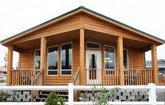 Homes Direct Modular Homes - Model Metolius Cabin Modular Log Homes, Modular Home Designs, Modular Home Floor Plans, Cabin Floor Plans, House Plans, Manufactured Homes Floor Plans, Log Cabin Mobile Homes, Log Cabin Homes, Living Room Ideas