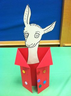 """Llama Llama Red Pajama for """"Together With Twos"""" storytime Llama Llama Books, Llama Llama Red Pajama, Preschool Books, Preschool Crafts, Preschool Classroom, Kids Crafts, Alphabet Crafts, Book Crafts, Clothing Themes"""