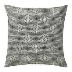 Instead of spending $30+ each on new throw pillows to jazz up your sofa, get some $4-10 covers for the ones you already own! NATTLJUS Cushion cover IKEA