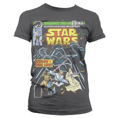 Star Wars Shadow Of A Dark Lord Girly T-Shirt  Hybris  Woman T-Shirts, Star Wars www.detoyboys.nl