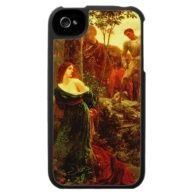 Chivalry ~ Bernard Dicksee 1885 Fine Art Painting Case For The iPhone 4