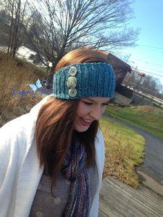 """""""Knit-Look"""" Headwarmers"""