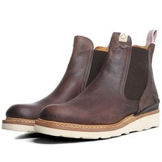 Visvim Gornergrat Mid-Folk (Dark Brown)