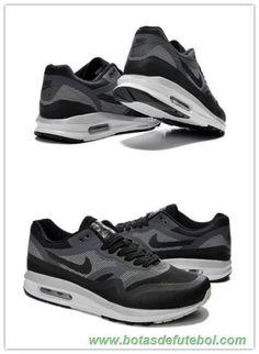 Masculino 652989-304 Preto and Cinza Nike Air Max 87 chuteiras venda
