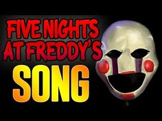 """FIVE NIGHTS AT FREDDY'S SONG """"THE PUPPET SONG"""" Lyric Video - YouTube Awesome Songs, Best Songs, Freddy 3, Love Others, Five Nights At Freddy's, Cute Love, Fnaf, Song Lyrics, Puppets"""