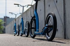 Premium adult scooters, designed and engineered in the UK. This custom colour #metallic #teal #blue is hand painted and hand assembled in England. #handsome #eroicabritannia