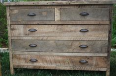 Your Custom Rustic Barn Wood Dresser With