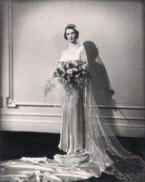 Vivien Leigh on her wedding day
