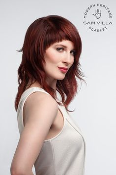 Scarlet haircut from the Sam Villa modern Heritage collection