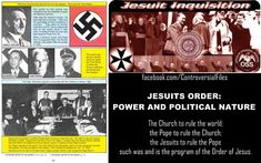 The Catholic Church controls the UN, NWO, bankers, Islam (!), terror and wars to bring totalitarian world rule to enslave man, and their The Ten Commandments of Anti-Christ call for one World Government and religion limiting world population by 90%