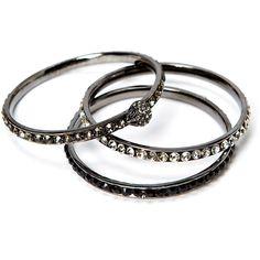 Friis & Company Folk Bracelet Set ($39) ❤ liked on Polyvore