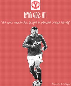Ryan Giggs Illustration - Manchester United legend Manchester United Legends, Web Design, Graphic Design, Sports Art, Fan Girl, Football Players, Great Britain, Creative Inspiration, Premier League