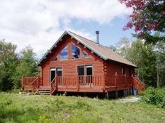 Chalet Style Log Cabin -Vacation Rental in Twin Mountain from @homeaway! #vacation #rental #travel #homeaway