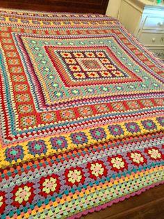 Crochet Afghans, Crochet Blanket Patterns, Baby Blanket Crochet, Knitting Patterns, Free Knitting, Crochet Crafts, Crochet Yarn, Crochet Projects, Easy Crochet