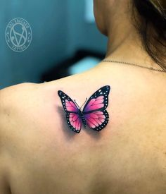 The butterfly is an elegant and often colourful creature with vivid patterns and bright displays of flamboyance. Baby Tattoos, Mini Tattoos, Foot Tattoos, Cute Tattoos, Beautiful Tattoos, Flower Tattoos, New Tattoos, Small Tattoos, Charm Tattoo