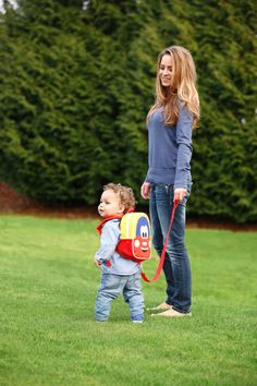 Too Cute! We love our new Cozy Coupe Harness Backpack! Keep your teetering toddler close with the removable tether.  @littletikes Cozy Coupe® #Harness #Toddler #Safety