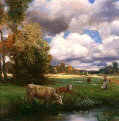 Clearing Skies, Gregory Frank Harris - Rehs Galleries, Inc.