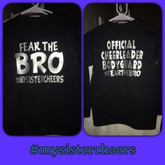 Fear the bro shirt cheer brother by CopperArrowOk on Etsy