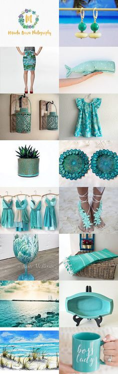 Turquoise Trends by styledonna on Etsy--Pinned+with+TreasuryPin.com
