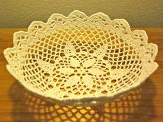 Ravelry: Lace Bowl pattern by Linda Permann