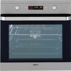 Buy Beko Single Built In Electric Oven Pyrolytic - Stainless Steel Built In Refrigerator, Built In Dishwasher, Built In Electric Oven, Dishwasher Installation, Stainless Steel Oven, Appliance Repair, Dubai, Spare Parts, Kitchen Ideas