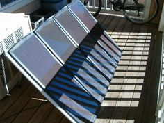 This instructable will show you everything you need to put together a pretty good sized electric solar panel system