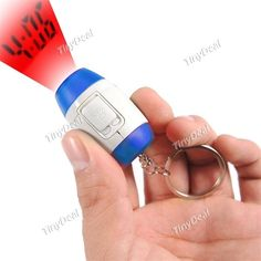 Mini LCD Projektion Zeit Uhr Digitale Projektion Uhr mit Keychain Ring Sortiert Pattern HHI-491863