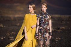 EVA POLESCHINSKI - the Stylemate #fashion #fashiondesign #fashiondesigner #mode #hautecouture Mustard Yellow, Fashion Beauty, Tulle, Sari, Colours, Model, Fashion Design, Collection, Instagram