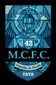 Football religion by David Flanagan, via Behance