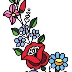 Kalocsai mintasablon gyűjtemény! 50 db hímezhető, ruhára átmásolható kalocsai minta sablon! (lakerika) - Meska.hu Bowser, Diy, Fictional Characters, Painted Flowers, Bricolage, Do It Yourself, Fantasy Characters, Homemade, Diys
