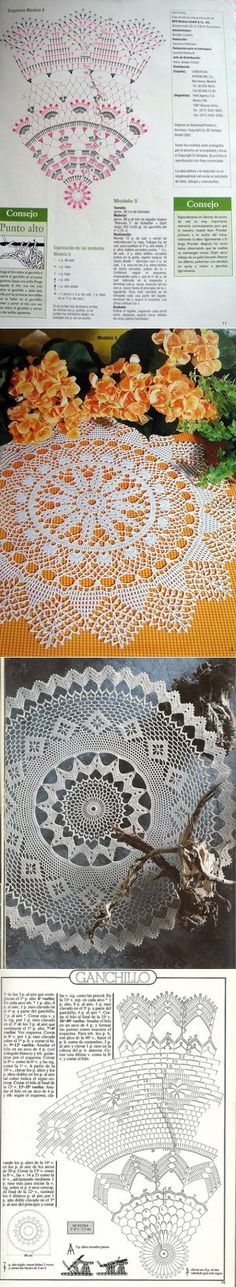 lace tablecloth...♥ Deniz ♥