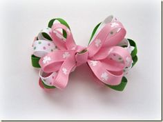 Tutorial For Patty's Girl Bow by The Ribbon Retreat