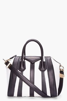 Givenchy Small Two_tone Patchwork Calf_hair Antigona Duffle $3500. @givenchy