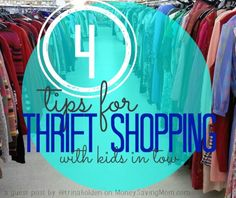 I truly was blessed & inspired by this post. I think you'll love it, too -- even if you usually don't shop at thrift stores!